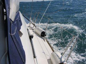 Törn Feeling auf einem Segelboot