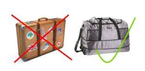 Reisegepäck Packliste Segelurlaub