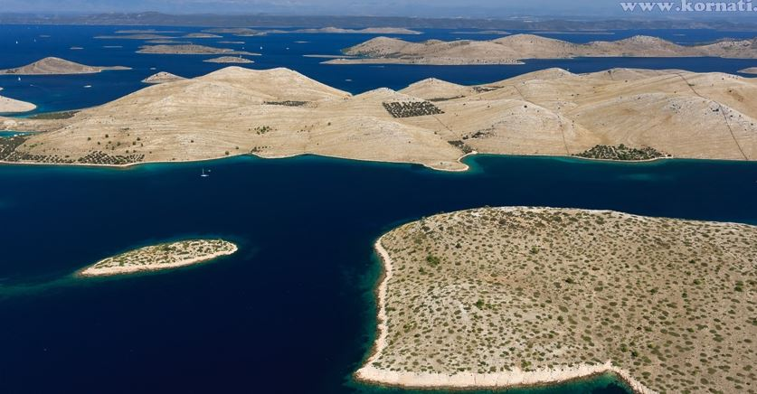 kornati nationalpark Ansicht