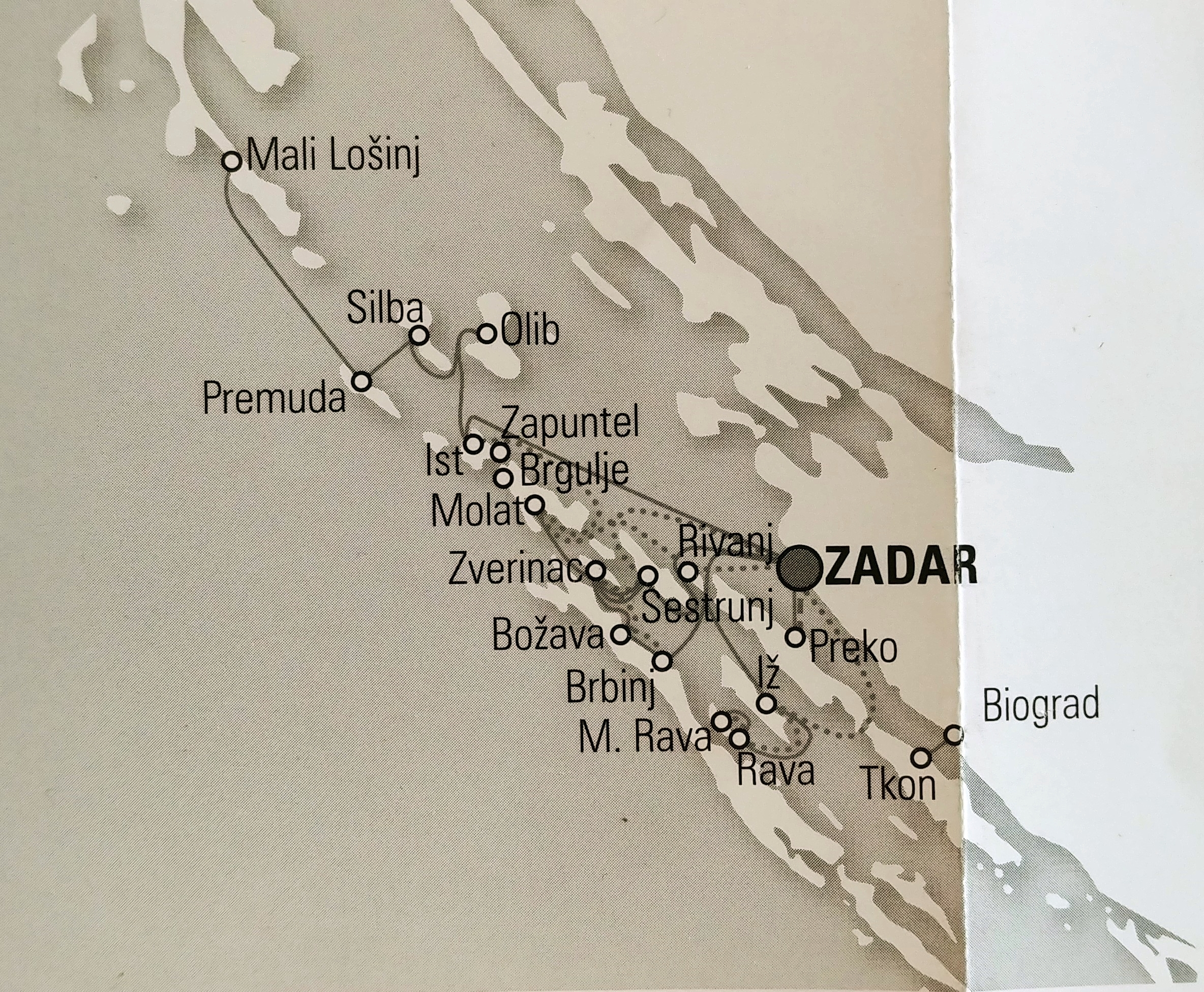 jadrolinija Zadar kroatien mit der fähre erkunden