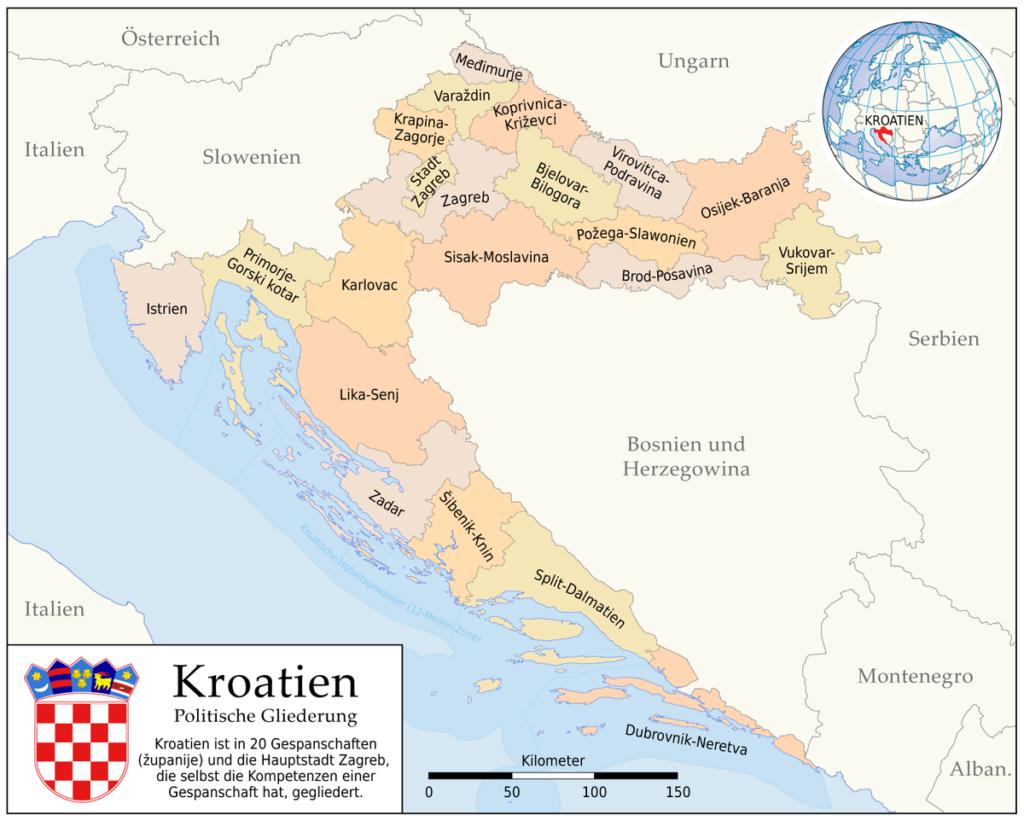 kroatien gespanschaften corona bootsanmeldung