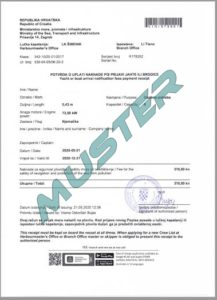 Bootsanmeldung Kroatien online Aufenthaltsgebühr Kurtaxe Permit
