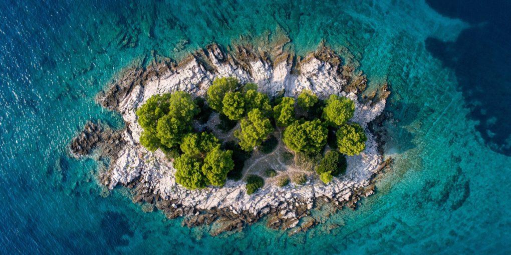 Einreisebedingungen Kroatien Insel Wasser