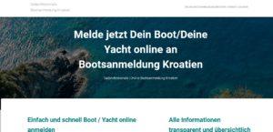 bootsanmeldung permit kroatien urlaub corona 2021